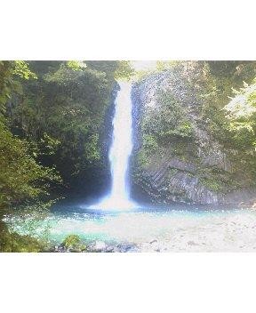 今日の浄連の滝