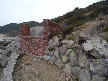 伊良湖の海を望む防備衛所&観的所: たなぼた